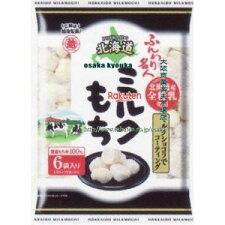 越後製菓60Gふんわり名人北海道ミルクもち(60G)×12個