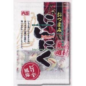 大阪京菓 ZRxASフーズ 100G おつまみにんにくピリ辛風味×120個 +税 【x】【送料無料(沖縄は別途送料)】