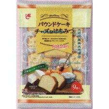エースベーカリー9個パウンドケーキチーズ&はちみつ(9個)×8個