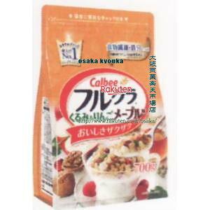 フルグラ くるみ&りんごメープル味 700g 6袋