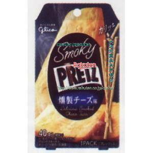 大阪京菓 ZRxグリコ 24G スモーキープリッツ燻製チーズ味×672個 +税 【xr】【送料無料(沖縄は別途送料)】