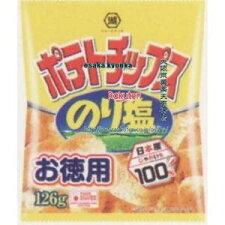 コイケヤ126Gお徳用サイズポテトチップスのり塩(126G)×10個