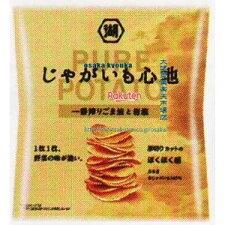 コイケヤ58Gじゃがいも心地一番搾りごま油と岩塩(58G)×12個