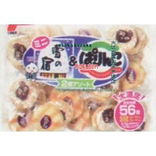 三幸製菓216G雪の宿ミニ&ぱりんこ2種アソート(216G)×12個