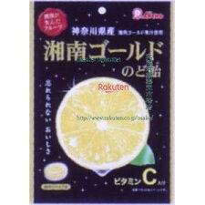 ライオン菓子72G湘南ゴールドのど飴(72G)×18個