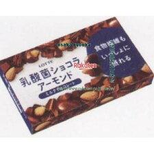 ロッテ86Gスイーツデイズ乳酸菌ショコラアーモンドチョコレート(86G)×80個