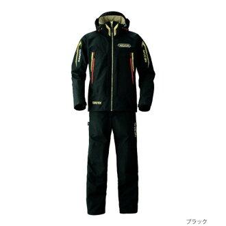 Shimano(shimano)nekusasugoatekkusu CMB特別西服RA-119M黑色2XL/3XL雷恩茄克(到達防水)