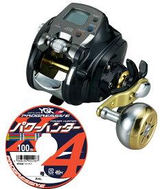 ダイワ(daiwa)レオブリッツ 300J PEライン4号300mセット!(よつあみパワーハンター プログレッシブ) 電動リールに糸を巻いてお届けします!