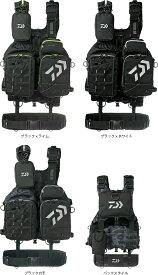 【送料無料】 ダイワ (daiwa) DF-6109(ベンチクールゲームベスト)ブラック×ライム/ブラック×ホワイト/ブラックカモ 救命胴衣 ライフジャケット