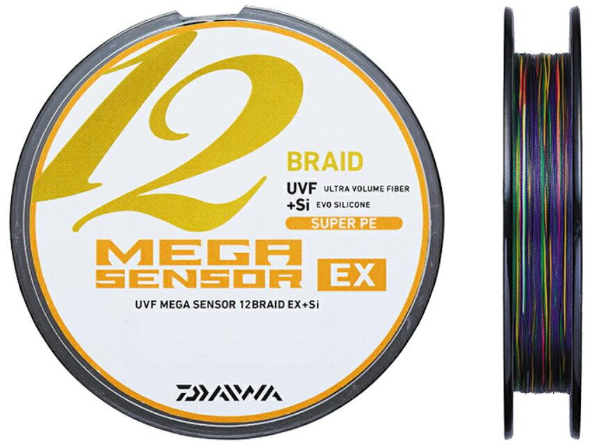 【メール便発送できます!】 ダイワ(daiwa)UVF メガセンサー12ブレイドEX+Si 0.6号100m〜 連結 PEライン