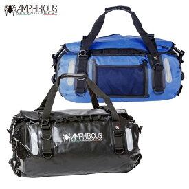 AMPHIBIOUS(アンフィビウス)防水バッグ VOYAGER 45L BLACK/BLUE