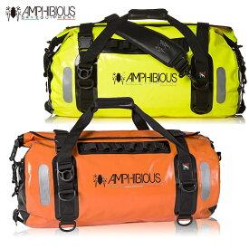 AMPHIBIOUS(アンフィビウス)防水バッグ VOYAGER 45L ORANGE オレンジ/FLUO イエロー