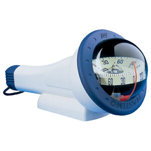 アイリス 100コンパス ハンドタイプ ブルー/イエロー 照明無し 船舶 ボート用品 ソフトラバー 方位磁石 ディンギー カヤック フィッシング