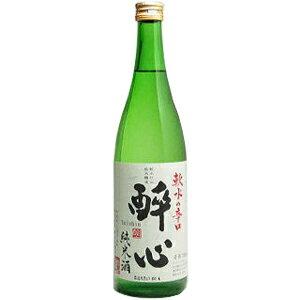 醉心 [ 酔心 ] 軟水の辛口純米酒 1800ml【楽ギフ包装】【楽のし】【ギフト プレゼント】【広島 日本酒】