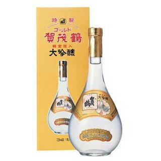 【金箔入り】賀茂鶴 大吟醸 特製ゴールド カモツル 720ml GK-B1【あす楽対応】【ギフト プレゼント】【広島 日本酒】