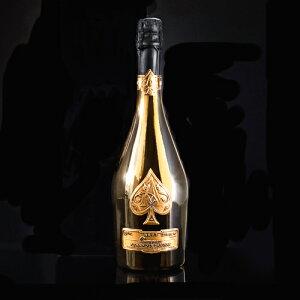 アルマン・ド・ブリニャック ブリュット-ゴールド-750ml【箱なし】【正規品】【シャンパン 最高級 ギフト プレゼント 贈り物】【送料無料 一部地域を除く】