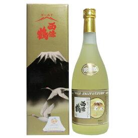 西條鶴 特撰 ゴールド西條鶴 720ml 【ギフト プレゼント】【広島 日本酒】