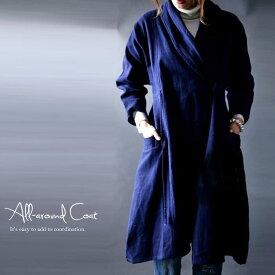 着るだけでスタイルアップ。この冬はロングコートでコーデを格上げ。 アンティカフェ apa a/w