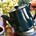 北欧ブルーが綺麗なティーポット 重ねて収納 伝統工芸美濃焼 日本製 洋食器 和食器 オシャレ食器 カフェ CAFE モダン …