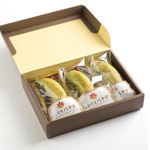 皮まで食べられる おかやまバナナ 追熟タイプMサイズ 3本セット/おひさまファーム [ ばなな 国産 無農薬 産地直送 プレミアム フルーツ 果物 お取り寄せ ギフト プチギフト プレゼント