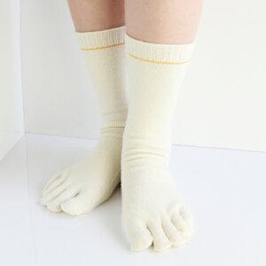 内絹外ウール靴下/重ね履きセット(M)