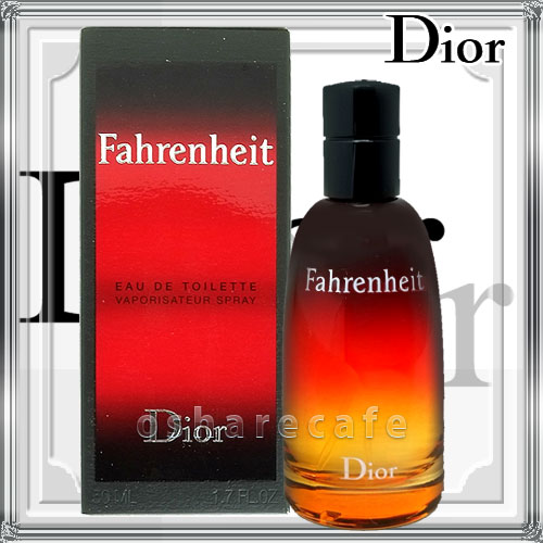 【Dior】クリスチャンディオール ファーレンハイトEDT 50ml(オードトワレ)【60サイズ】【コンビニ受取対応商品】 (6001767)