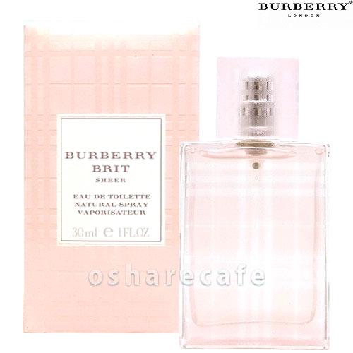 バーバリー ブリットシアーEDT 30ml(オードトワレ)【香水】【60サイズ】【コンビニ受取対応商品】 (6003706)