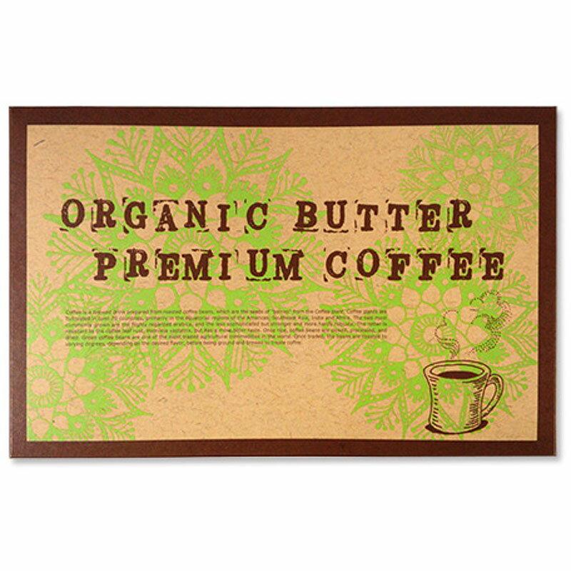 オーガニックバタープレミアムコーヒー1.3g×30包【メール便送料無料】※メール便は他商品との同梱不可 (6020348)