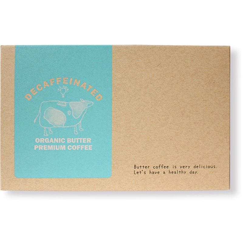 デカフェ オーガニックバタープレミアムコーヒー1.3g×30包【メール便送料無料】※メール便は他商品との同梱不可 (6023496)