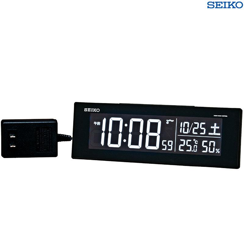 セイコークロック DL305K デジタル時計【電波クロック/DL305/SEIKO】【沖縄・離島は送料無料対象外】 (6023816)