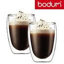 ボダムパヴィーナダブルウォールグラス0.35L2個セットBodumPAVINA4559-10US