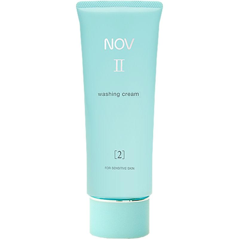 ノエビア NOVノブ II ウォッシングクリーム 110g【洗顔料】【60サイズ】【コンビニ受取対応商品】 (6011140)