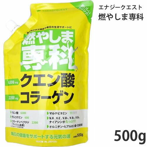 エナジークエスト 燃やしま専科 500g【60サイズ】【あす楽対応_関東】 (6019919)