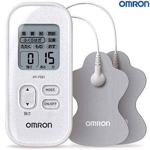 オムロン OMRON 低周波治療器HV-F021-W(ホワイト)【60サイズ】【コンビニ受取対応商品】 (6013988)