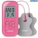 オムロン OMRON 低周波治療器 HV-F021-PK(ピンク)【沖縄・離島は送料無料対象外】 (6013989)