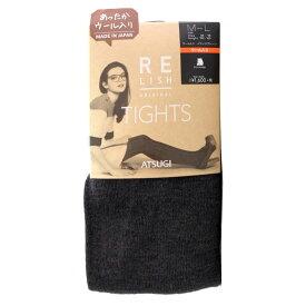【クーポン付】日本製 アツギタイツ ATSUGI(アツギ) RELISH(レリッシュ) 450デニール 暖かいタイツ ウール入り M-L レディース(アツギタイツ) BL1651 Warm tights【60サイズ】 (6025848) )