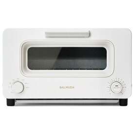 バルミューダ スチームトースター The Toaster K05A-WH ホワイト(1214452)【BALMUDA】【別途延長保証契約可能】【宅配便送料無料】
