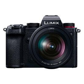パナソニック デジタル一眼カメラ LUMIX DC-S5K 標準ズームKレンズキット(1214551)【Panasonic】【別途延長保証契約可能】【宅配便送料無料】※他商品との同梱不可 (wn0122)