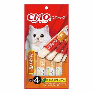 いなば CIAO スティック ささみ 15g×4本【おやつ】【happiest】【SBT】 (6042335)