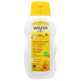 【並行輸入品】WELEDA ヴェレダ カレンドラベビーオイル N 200ml 【SBT】 (6010500)
