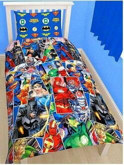 保護杰斯特斯聯賽被子覆蓋物&枕套重新流行/多重設計萬德女超人蝙蝠人們我的今天晚上放心,好像睡得着,DC漫畫超級英雄是可逆并且[劃算的!/10P26Mar16]