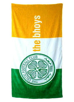 The fans to rejoice / Scottish Premier League / Celtic FC / beach towels / pool! In the sea! / trip! and decorate! / applications various clean / tri color / Celtic would love to!