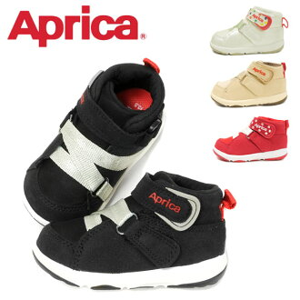 Child middle cut mid cut low-frequency cut shoes shoes Velcro sweat perspiration deodorization Dry Black white beige red 13 13.5 14 14.5 15 of the sneakers shoes AC0021 STEP2 child toddler boy boy girl woman for the APRICA up Rika step 2 kids baby