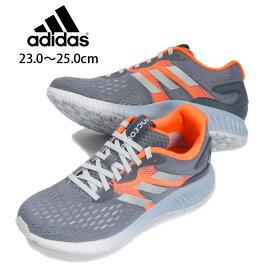 adidas aerobounce w レディース用スニーカーシューズ 23 23.5 24 24.5 25 アディダス エアロバウンス DA9964 女性 婦人 靴 くつ 紐 ランニング ジョギング ウォーキング スポーツ 運動 ローインディゴ あす楽 送料無料