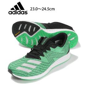 adidas aerobounce pr w レディース用スニーカーシューズ 23 23.5 24 24.5 アディダス エアロバウンス CG4650 女性 婦人 靴 くつ 紐 ランニング ジョギング ウォーキング スポーツ 運動 ハイレゾグリーン あす楽 送料無料
