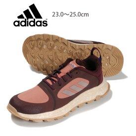 adidas RESPONSETRAIL X レディース用トレイルランニングシューズ 23 23.5 24 24.5 25 アディダス レスポンストレイル EE9963 女性 ローカット ランニング 運動靴 レースアップ 紐 ひも 靴 くつ 合皮 マルーンリネンローピンク あす楽 送料無料