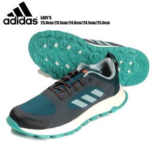 adidas RESPONSETRAIL X レディース用トレイルランニングシューズ 23 23.5 24 24.5 25 アディダス レスポンストレイル EF0529 女性 ローカット ランニング 運動靴 レースアップ 紐 ひも 靴 くつ 合皮 トレ