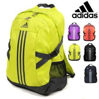 品牌包阿迪達斯 BP 功率 II 背包阿迪達斯 CZ338 3 條紋背包 D 包背包體育體育俱樂部學校健身房袋包袋袋霓虹螢光顏色 27 L 黃色橙色紫色黑色
