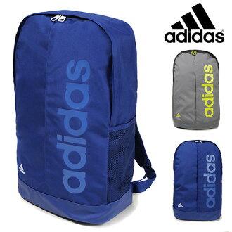 品牌包 ☆ 阿迪達斯阿迪達斯線性背包林每 BP 29903 29905 背包 D 包背包體育運動俱樂部學校健身房袋包袋廣場每袋藍灰色 22.9 L