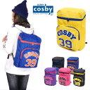 cosby コスビー リュックサック デイパック Dパック バックパック CS101 スクエア ボックス ロゴ 英字 バイカラー 鞄 …